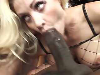 Mature brunette catches him masturbating