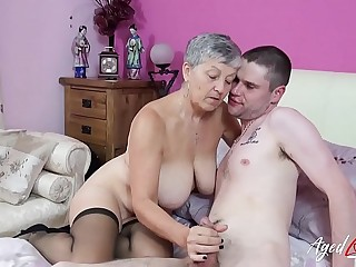 AgedLovE Hot Mature Stunner Savana Got Fucked Hard
