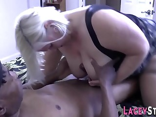 Blacked pensioner pounded