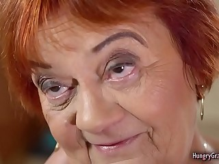 Sexy Granny With Red Hair Loves to Suck and Fuck