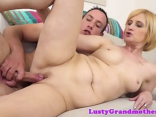 Smalltit euro mature bitchy after showering