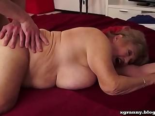 Busty granny sex