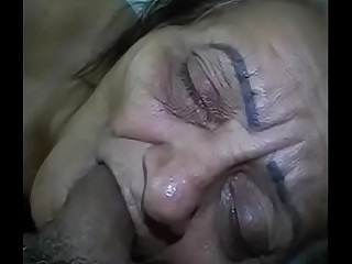 cumming in granny'_s mouth