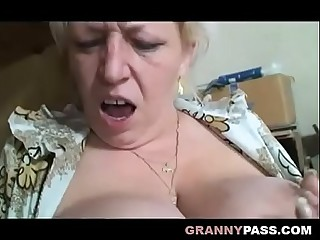 Busty Granny Share Grandpa'_s Cock With A Teen