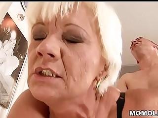 Mature pussy fucked hard
