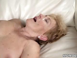 Naughty granny still loves hard dick  Malya and Mugur