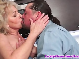 Alluring euro mature gets her cunt drilled