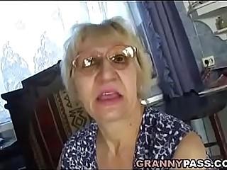 Hungarian Granny Fucks Her Son