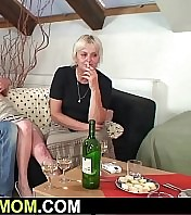 Old granny entices son-in-law