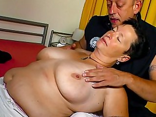 XXX OMAS - Nicole G is a big-titted granny!