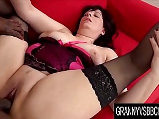 Granny Vs BBC - Triss Cocksluts Assfuck