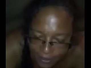 Ebony granny suck and tittes fuck
