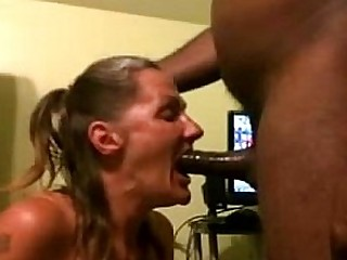 Toothless Granny Paying Rent With Her Throat - More at cuntcams.net