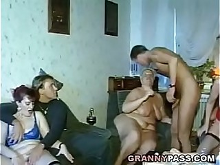 Home German Granny Orgy