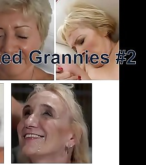 Compilation of naughty Grannies in Hardcore