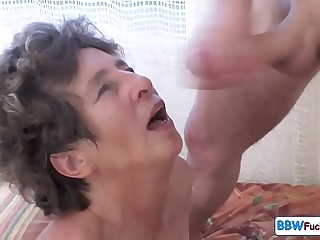 Old Big Granny Marionette's From Anal