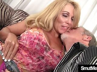 Sexy Blond Granny bitchy crazy