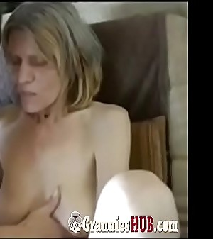 Old Saggy Granny And GILF Brunette Are Lesbos