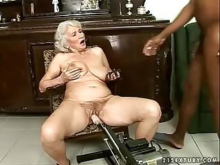 Tramps granny fuck