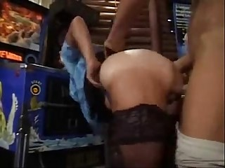 Granny BBW Ildiko The Bar Maid Firm Pounded