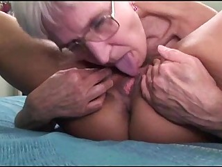 Lesbian grannies having fun