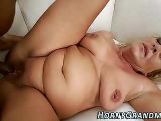 Spunk mouthed granny bbc
