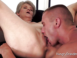 Granny Over 60 Expert Blowjob