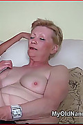 Lucy Lesbian Kisses & Eats Old Granny