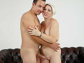 Bibi Pink got her mommy cunt fucked hard