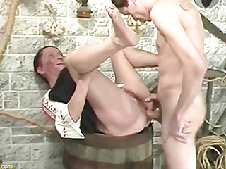 ugly hairy mom tough banged by stepson