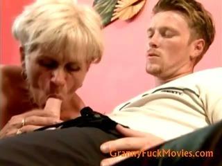 grandma Ella fucking youger tart's buddy