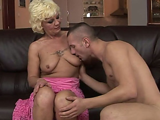 Hussy old granny Orchidea is getting rammed bad doggy style