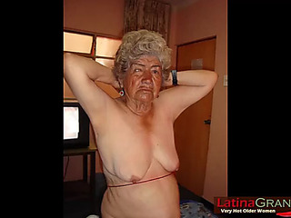 Latinagranny nonprofessional pics showing old nudes
