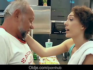 Lily labeau pervert old geezer attilla is nailing debauched chick