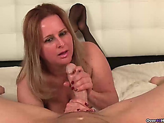 Aged wench carnal POV strokes