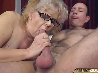 my grandmother is a weirdo slut