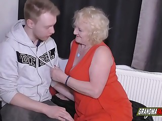the grandmother wants to show the young boy what he is able to do
