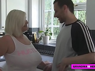 grandma fucks the lodger