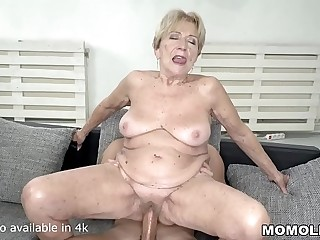 70  mature lady still loves fat dicks