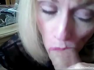Slut Sucker Grandmother At Home