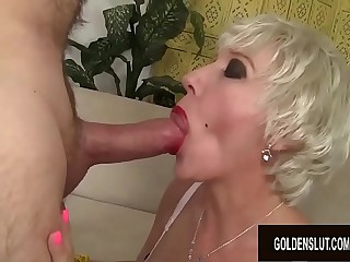 Amazing Grandma Dalny Marga Gets Fucked Passionately by an Old Man