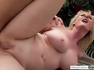 Busty mature got assfucked  Lusty Grandmas