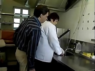 BBW GERMAN MATURE FUCKED IN THE KITCHEN
