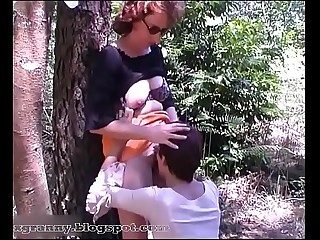 Forest mature lesbians