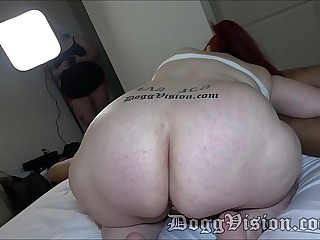 Big Butt Wide Hips 54y GILF Cum On My Tits Daddy