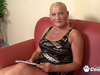 Chunky Mature Granny Has Her Anus Ravished